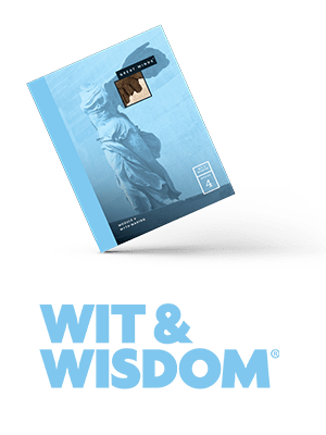 Book Cover Wit and Wisdom with logo